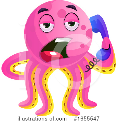 Octopus Clipart #1655547 by Morphart Creations