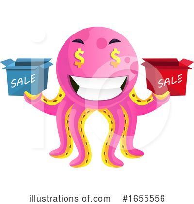 Octopus Clipart #1655556 by Morphart Creations