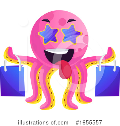 Royalty-Free (RF) Octopus Clipart Illustration by Morphart Creations - Stock Sample #1655557