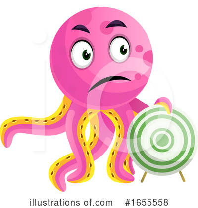 Octopus Clipart #1655558 by Morphart Creations