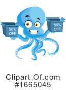 Octopus Clipart #1665045 by Morphart Creations