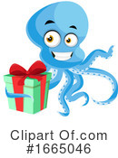 Octopus Clipart #1665046 by Morphart Creations