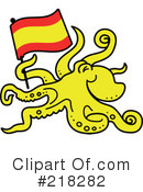 Royalty-Free (RF) Octopus Clipart Illustration #218282