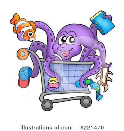 Shopping Clipart #221470 by visekart