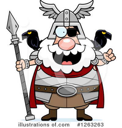 Odin Clipart #1263263 by Cory Thoman