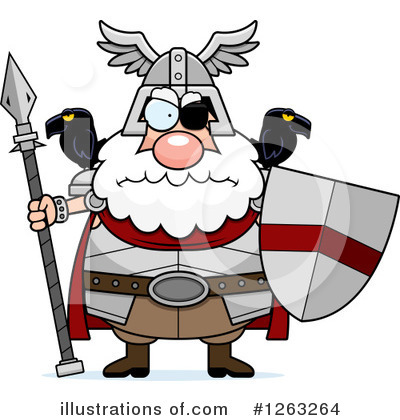 Odin Clipart #1263264 by Cory Thoman