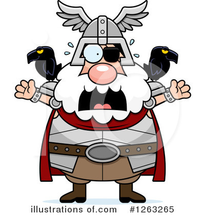 Odin Clipart #1263265 by Cory Thoman