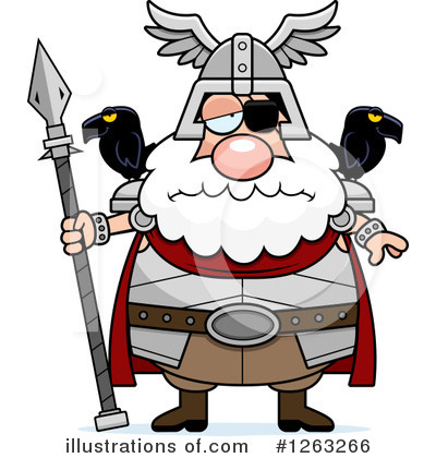 Odin Clipart #1263266 by Cory Thoman