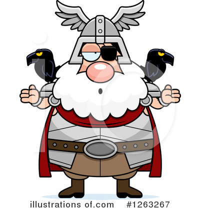 Odin Clipart #1263267 by Cory Thoman