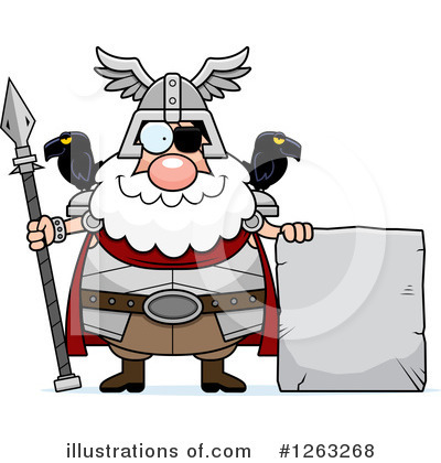 Odin Clipart #1263268 by Cory Thoman