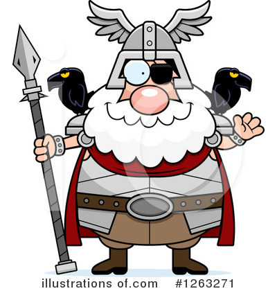 Odin Clipart #1263271 by Cory Thoman