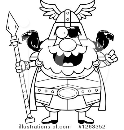 Odin Clipart #1263352 by Cory Thoman