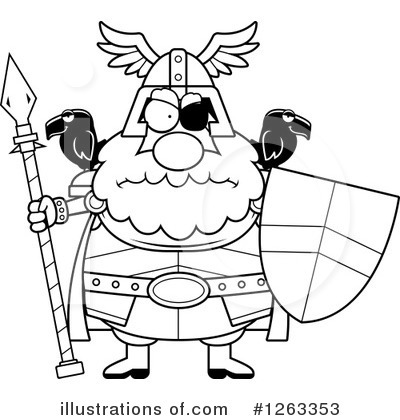Odin Clipart #1263353 by Cory Thoman