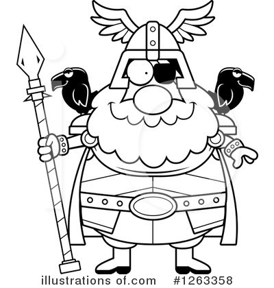 Odin Clipart #1263358 by Cory Thoman
