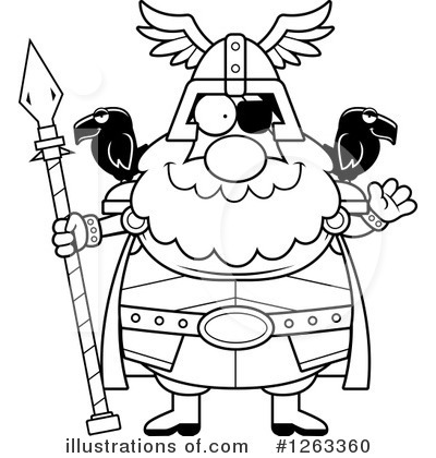 Odin Clipart #1263360 by Cory Thoman