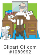 Royalty-Free (RF) Office Clipart Illustration #1089992