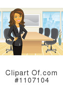 Royalty-Free (RF) office Clipart Illustration #1107104