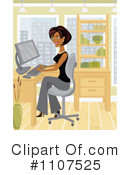 Office Clipart #1107525 by Amanda Kate