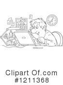 Office Clipart #1211368 by Alex Bannykh
