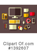 Office Clipart #1392607 by BNP Design Studio