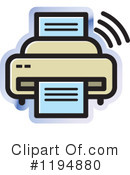 Office Icon Clipart #1194880 by Lal Perera