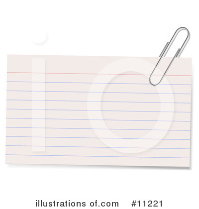 Royalty-Free (RF) Office Supplies Clipart Illustration by Leo Blanchette - Stock Sample #11221