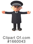 Officer Clipart #1660043 by Steve Young