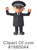 Officer Clipart #1660044 by Steve Young