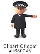Officer Clipart #1660045 by Steve Young