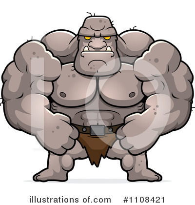 Royalty-Free (RF) Ogre Clipart Illustration by Cory Thoman - Stock Sample #1108421