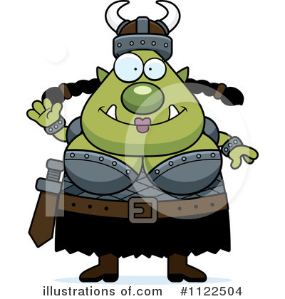 Ogre Clipart #1122504 by Cory Thoman