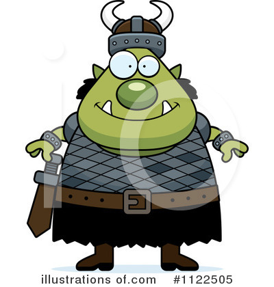 Ogre Clipart #1122505 by Cory Thoman