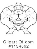 Ogre Clipart #1134092 by Cory Thoman