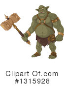 Ogre Clipart #1315928 by Pushkin