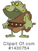 Ogre Clipart #1430754 by toonaday