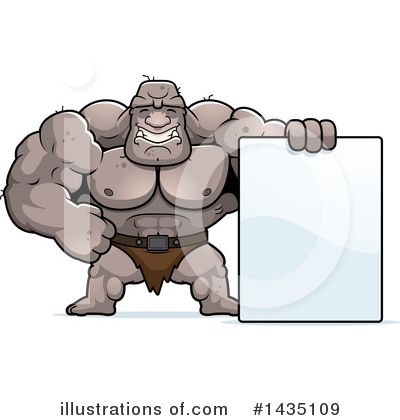 Ogre Clipart #1435109 by Cory Thoman
