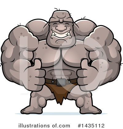 Ogre Clipart #1435112 by Cory Thoman
