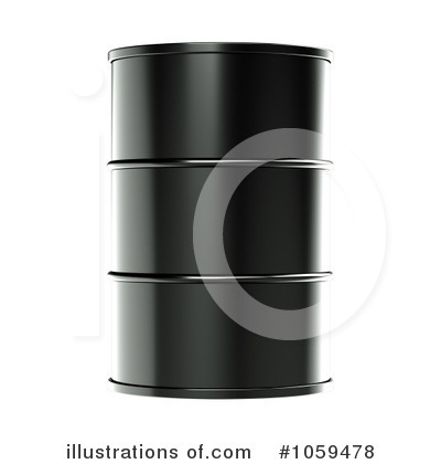 Oil Barrel Clipart #1059478 by ShazamImages