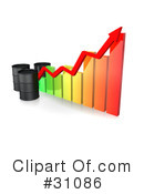 Royalty-Free (RF) Oil Barrel Clipart Illustration #31086