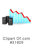 Royalty-Free (RF) Oil Barrel Clipart Illustration #31826
