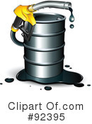 Royalty-Free (RF) Oil Clipart Illustration #92395
