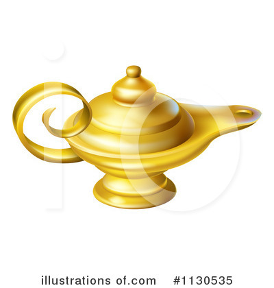 Ten Virgins Oil Lamp Clipart