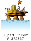 Oil Rig Clipart #1372837