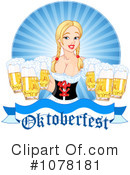 Royalty-Free (RF) Oktoberfest Clipart Illustration #1078181