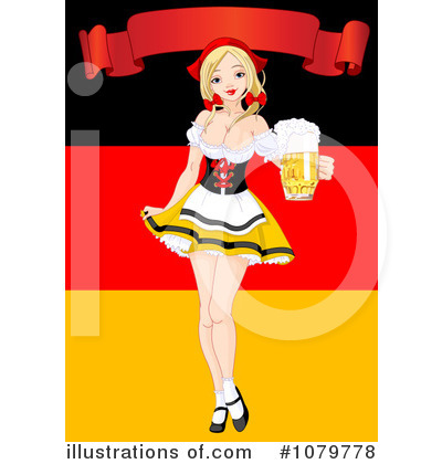 Royalty-Free (RF) Oktoberfest Clipart Illustration by Pushkin - Stock Sample #1079778
