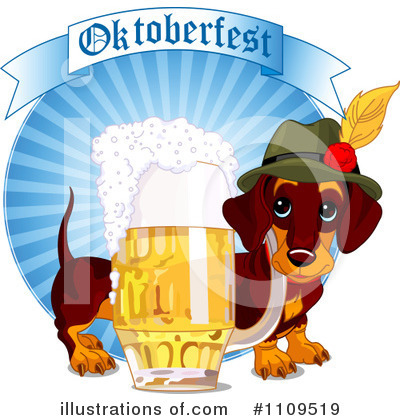 Royalty-Free (RF) Oktoberfest Clipart Illustration by Pushkin - Stock Sample #1109519