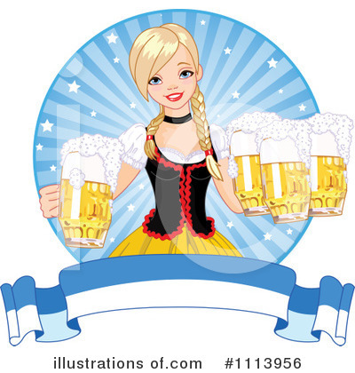 Oktoberfest Clipart #1113956 by Pushkin