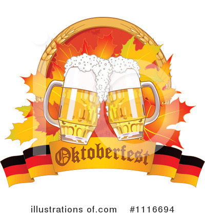 Oktoberfest Clipart #1116694 by Pushkin