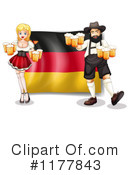 Royalty-Free (RF) Oktoberfest Clipart Illustration #1177843