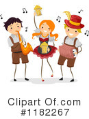 Royalty-Free (RF) Oktoberfest Clipart Illustration #1182267